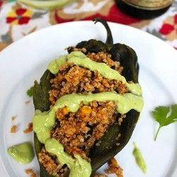 ... Pinterest | Quinoa, Buffalo Chicken Quinoa and Quinoa Stuffed Peppers