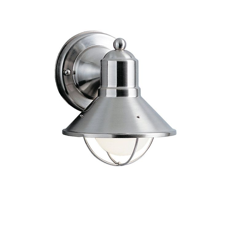 Kichler Lighting Kichler Nautical Outdoor Wall Light in Brushed Nickel26 best Exterior Lighting images on Pinterest   Exterior lighting  . Kichler Lighting Outdoor Sconce. Home Design Ideas