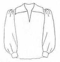 men's renaissance shirt pattern free - Google Search