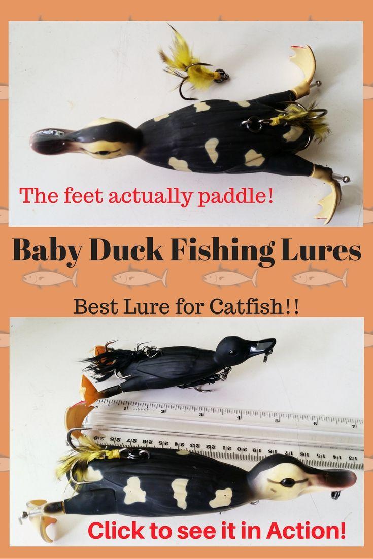 244 best catfish fishing images on pinterest catfish for Duck fishing lure
