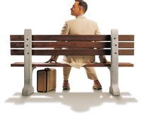 Forrest Gump,this movie told us a fool's life.But he became a famous person in the end.What did he do? How did he become a famous person?