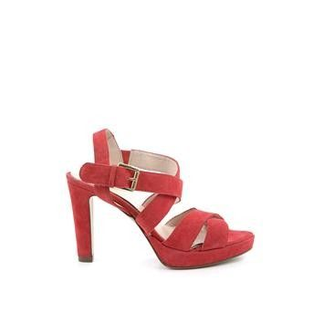 Manfield - roze sandalen  #hogehakken #highheels