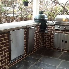 Best 25 Outdoor Kitchen Countertops Ideas On Pinterest  Backyard Awesome Outdoor Kitchen Countertops Inspiration Design