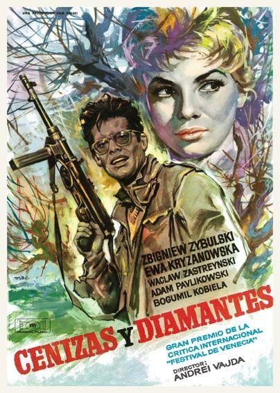 """Cenizas y diamantes (1958) """"Popiól i diament"""" de Andrzej Wajda - tt0052080"""