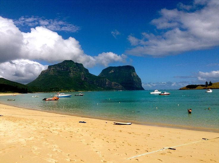 Lord Howe Island's lagoon is an ideal safe place for swimming, kayaking, diving, snorkeling, stand up paddle boarding, boating and fishing.   www.lordhoweisland.info