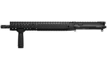 Daniel Defense DDM4 V9 Upper Receiver Group Lightweight - No Sights 5.56mm 16 Inch Pencil Profile Chrome Moly Vanadium Steel Cold Hammer Forged 17 Twist Barrel Black - $1025