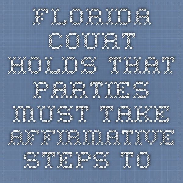 "Florida Court Holds That Parties Must Take Affirmative Steps to ""Decelerate"" a Loan After a Dismissal Without Prejudice or Face Statute of Limitations Consequences; Acknowledges Conflict with Sister Courts"