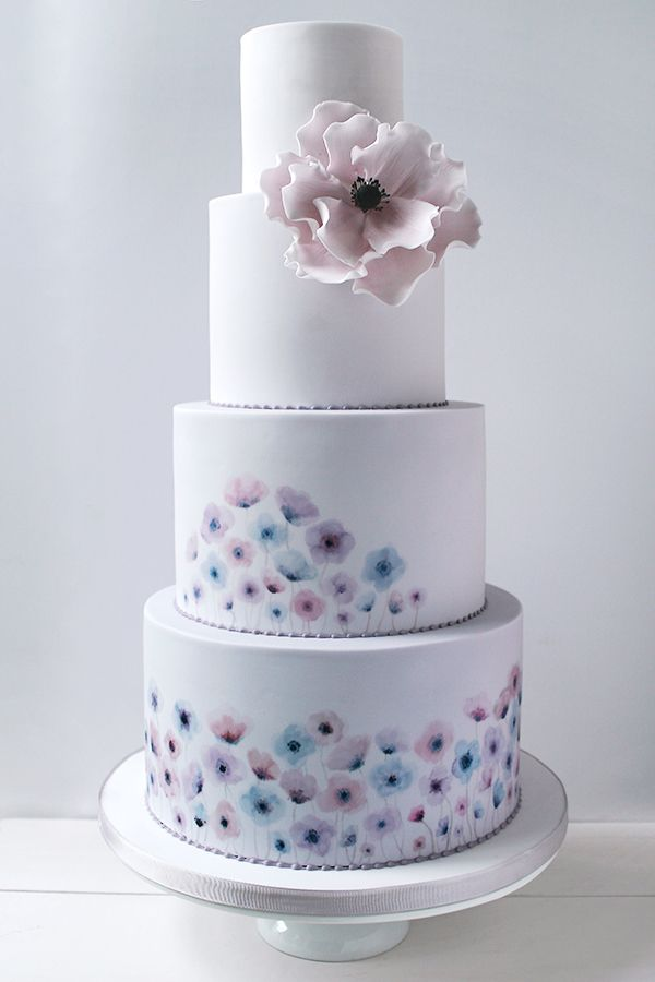 how to wedding cake 25 best ideas about wildflower cake on color 16196