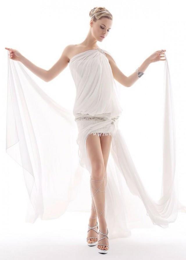 Свадебное греческое платье