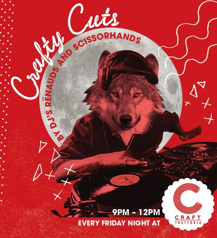Friday Night Crafty Cuts #Crafttrattoria #Durban