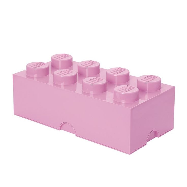LEGO Storage Brick 8 Toy Box Medium Pink - 40040639