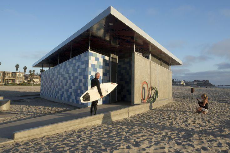 Galeria de Banheiro Público em Ocean Beach / Kevin deFreitas Architects - 3