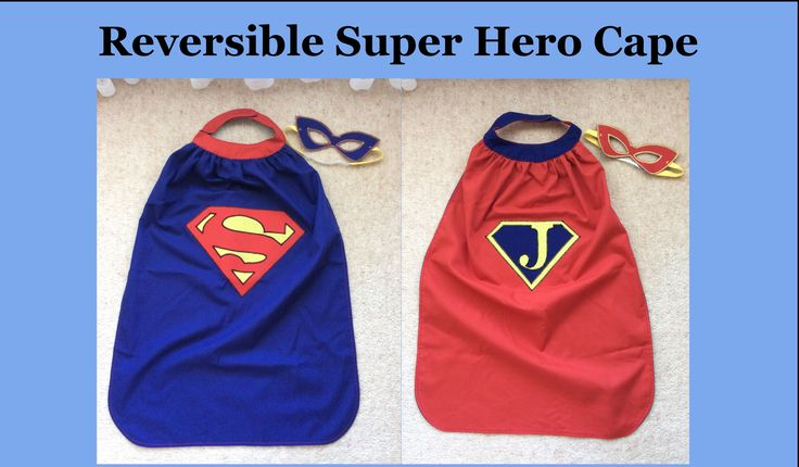 Reversible Super Hero Cape made from a pattern purchased form Fuddie Duddies on Craftsy. Really pleased with how it turned out.