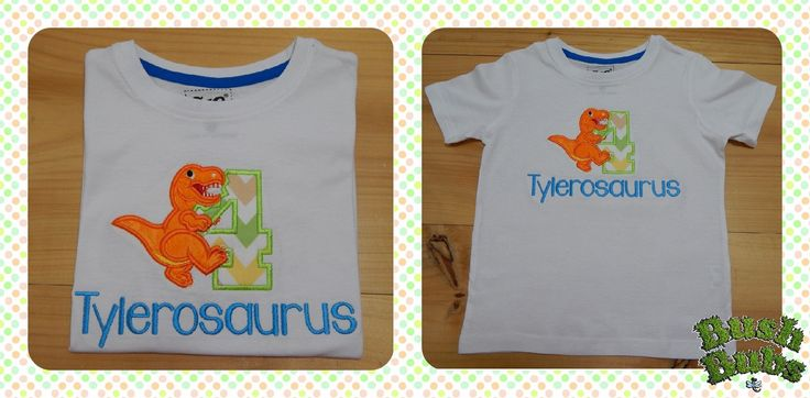 Personalised Birthday T Shirts from $25.00