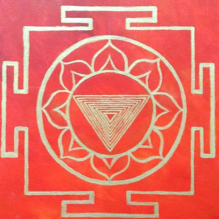Latest #painting #inprogress #bhairavi #mahavidya #cosmicpower #inspired