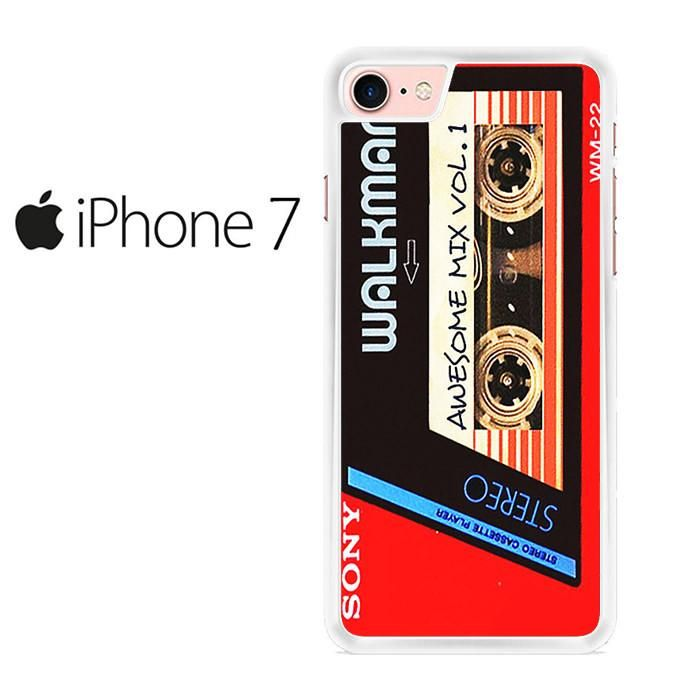 Walkman Awesome Mix Vol 1 Red Tape Iphone 7 Case