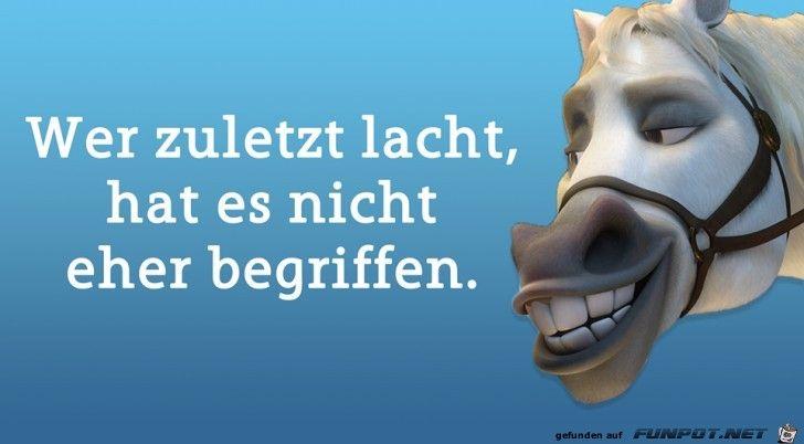 lustiges Bild 'Wer zuletzt lacht.jpg'- Eine von 60174 Dateien in der Kategorie 'Lustiges' auf FUNPOT.