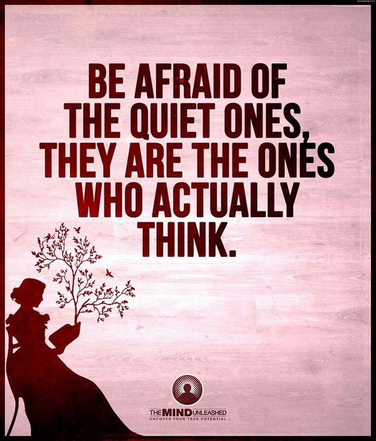 The Quiet Ones....