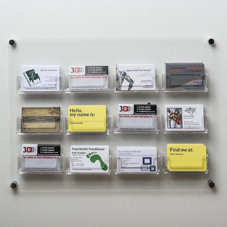 43 best Brochure / Leaflet Holders & Business Card Holders images on ...