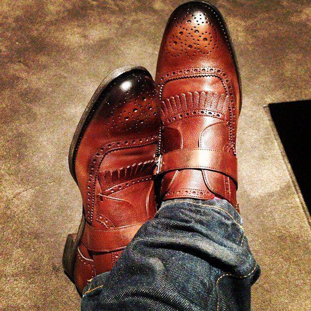 Stylish mens shoes ..