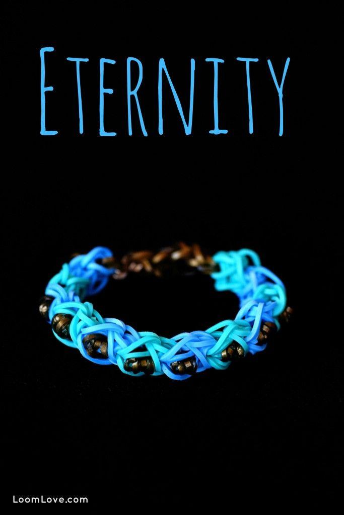 How to Make an Eternity Bracelet - Rainbow Loom Video Tutorial