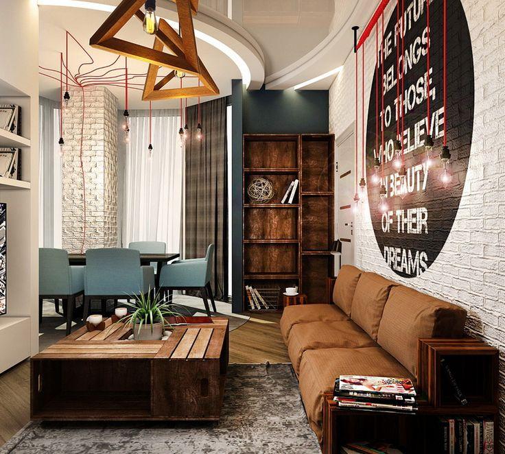 Квартира в стиле лофт. дизайн студия одесса, corner, студия corner, дизайн…