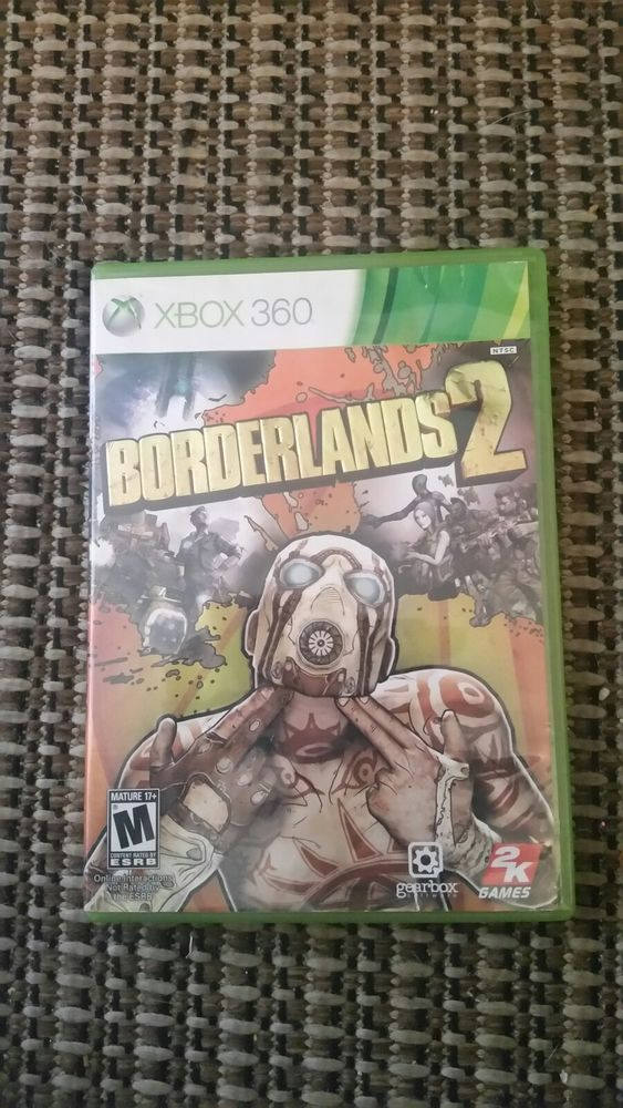 Borderlands 2 Microsoft Xbox 360 2012 Used Tested Fast Shipping Video Game Great