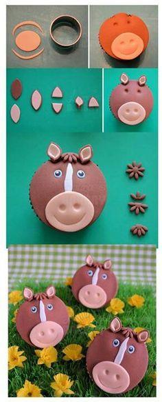 creative horse cakes - Google Search