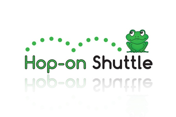 Hop-on Shuttle Logo Design