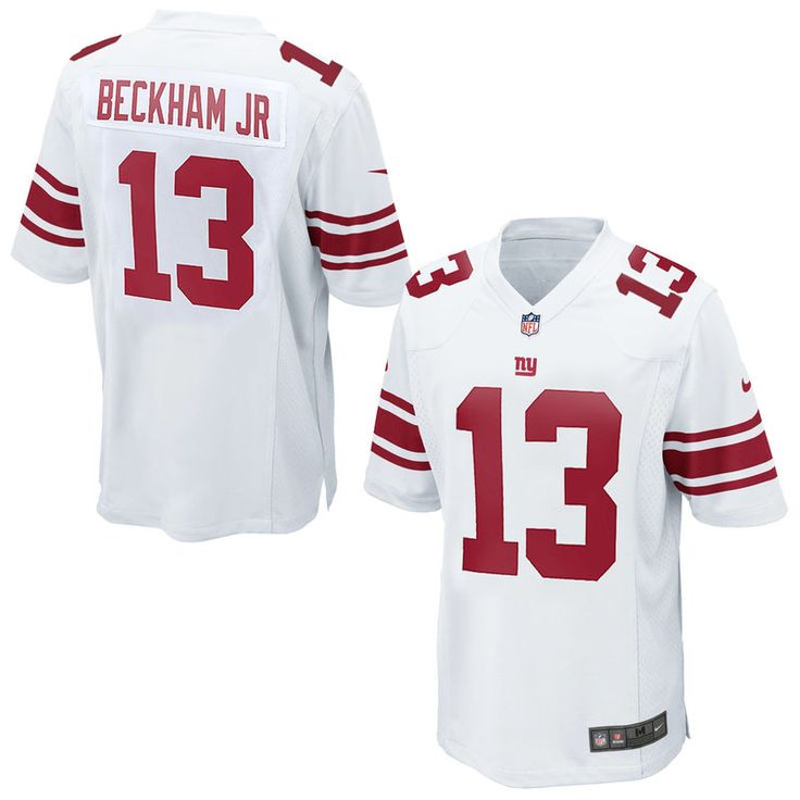 Odell Beckham Jr New York Giants Nike Game Jersey – White