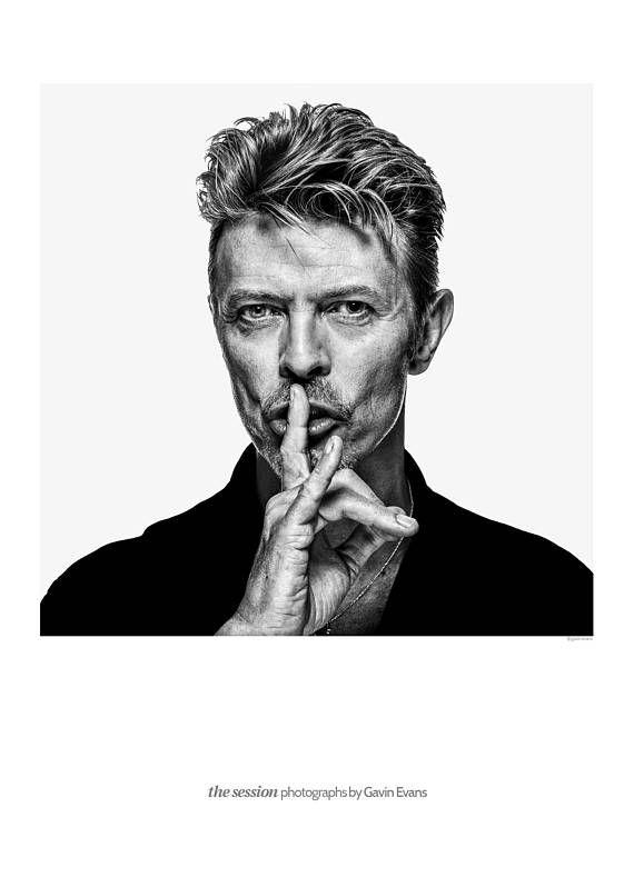 Exclusive David Bowie Exhibition Poster 1