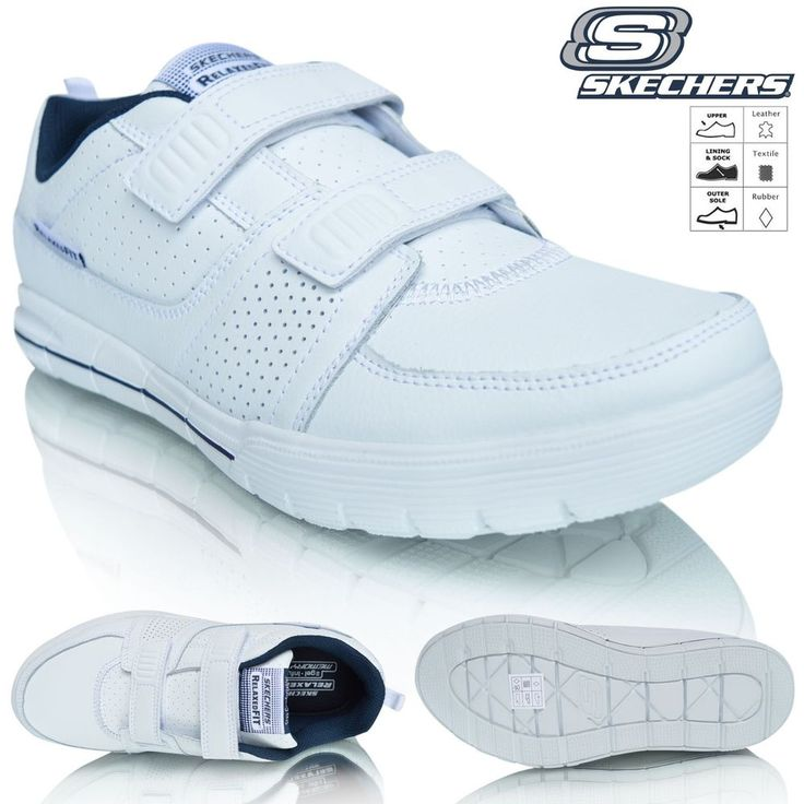 Mens Skechers Relaxed Fit Memory Foam Archad II - Crunch Time Casual Trainers New Gel Infused Insole Sporty Sports Shoes Sneakers