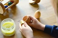 Homemade Beeswax Polish (and skin care product). - how we montessori