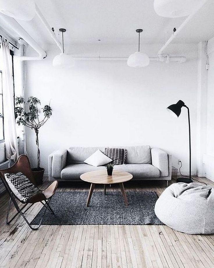 42 Stunning Minimalist Industrial Apartment Ideas Apartmenttherapy Apartmentli Minimalist Living Room Decor Small Living Room Decor Small Living Room Design Minimalist small living room decor