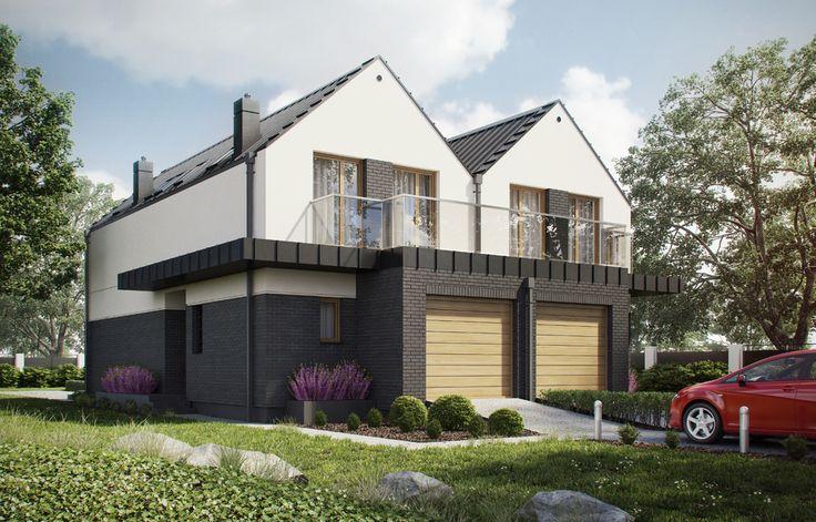 DOM.PL™ - Projekt domu ARX D219B CE - DOM RX4-86 - gotowy projekt domu