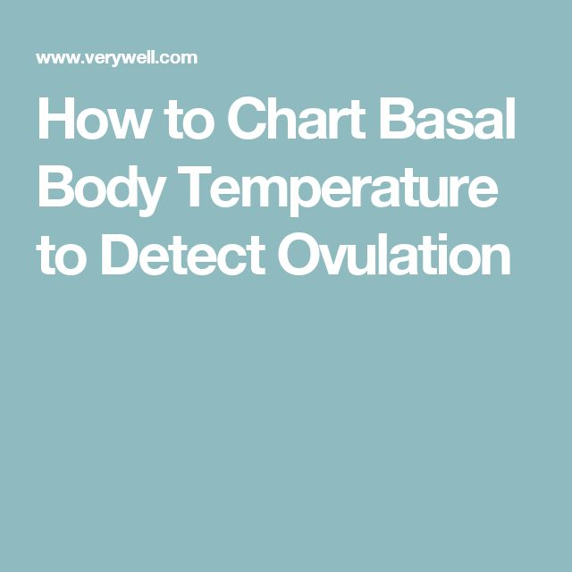 How to Chart Basal Body Temperature to Detect Ovulation