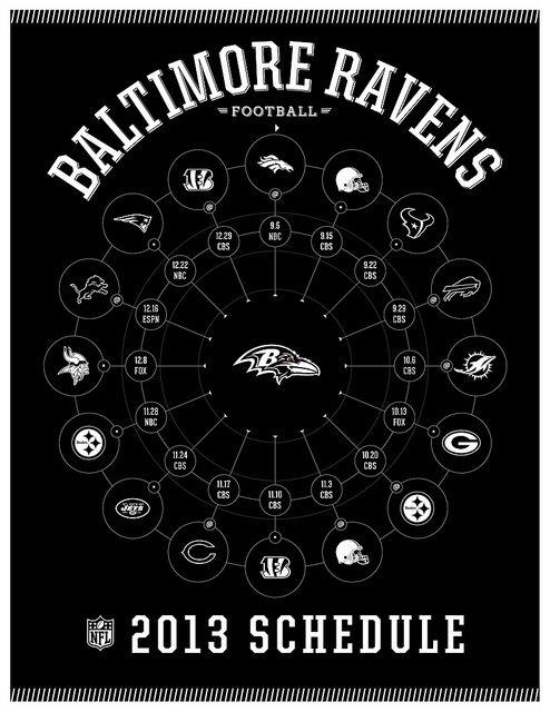 Baltimore Ravens 2013 Schedule