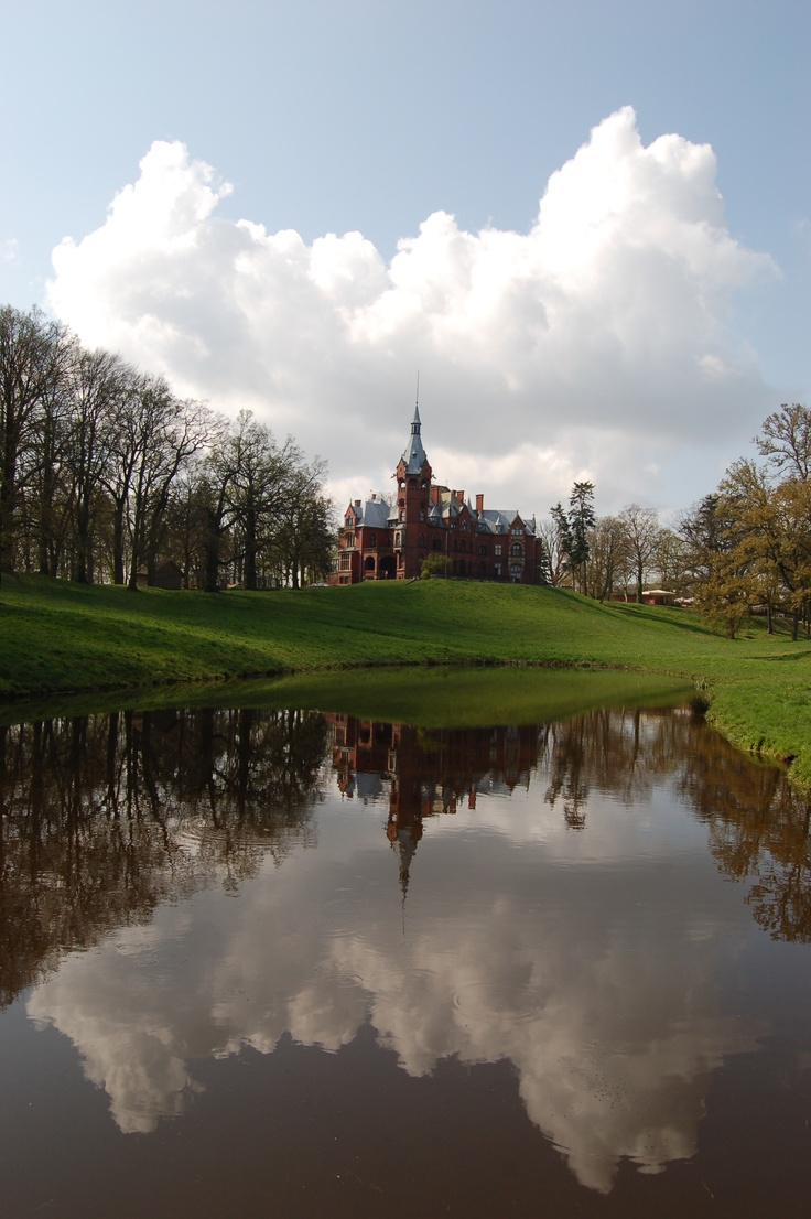 Palace in Wąsowo, Poland