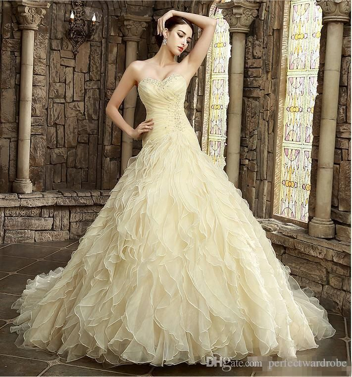 The 25 best yellow wedding guest dresses ideas on pinterest 2017 yellow wedding dresses online colorful wedding dresses wave details alternative bridal gowns colored beautiful a line dresses special junglespirit Choice Image