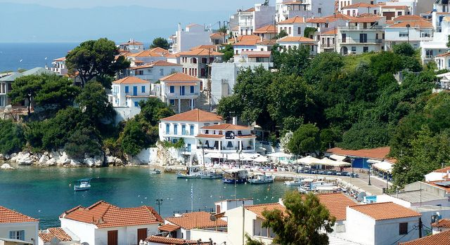 Skiathos - the old harbour   Flickr - Photo Sharing!