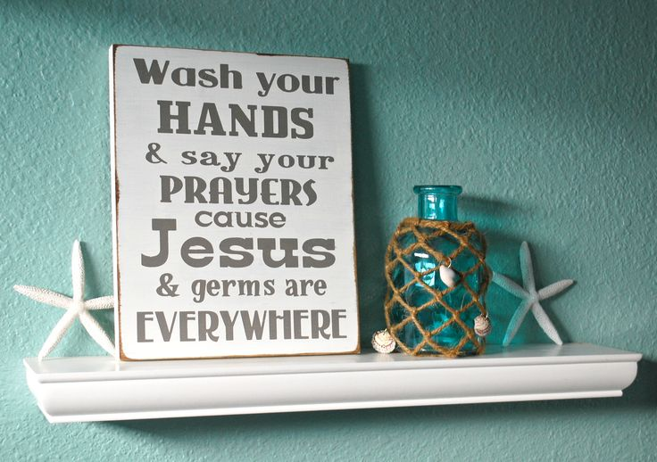 Wash Your Hands Bathroom Httpswwwetsycomlisting
