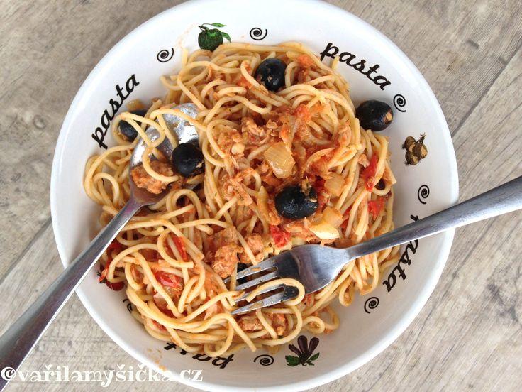Rychlý recept špagety
