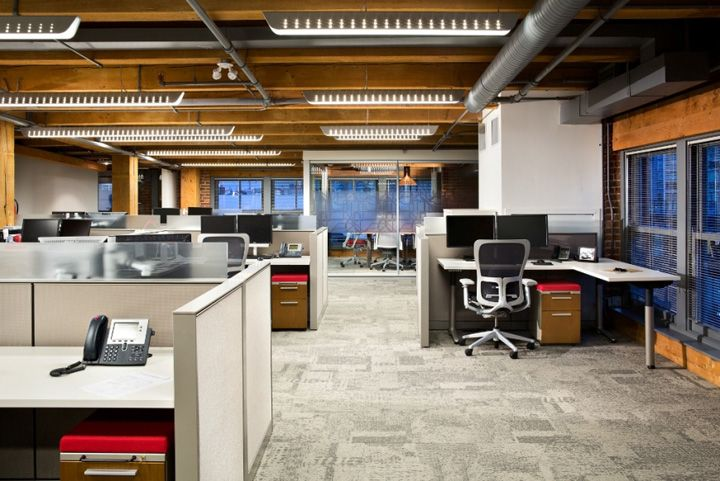 Architecture firm offices urban systems office by ashley for Office design vancouver