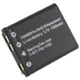 STK's Nikon EN-EL10 Battery - 1300 mAH for Nikon Coolpix S3000, S4000, S80, S220, S570, S205, S60, S230, S210, S5100, S600, S200, S500, S700, S520, S510 (Camera)By SterlingTek