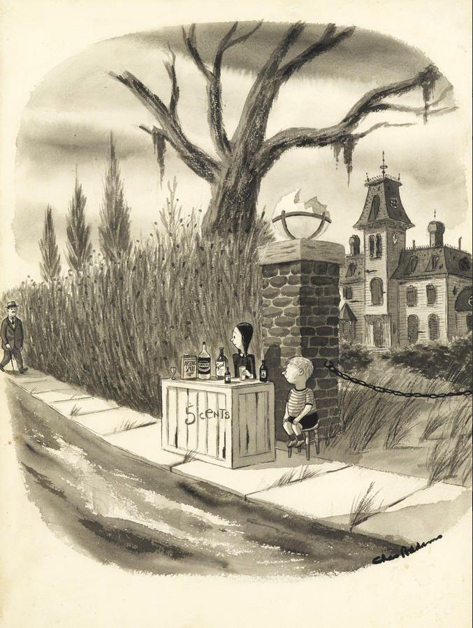 Charles Addams: Lemonade, Anyone?