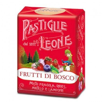 Le classiche scatolette dal design liberty inconfondibile! L'assortimento dei frutti di bosco è composto da: lampone, fragola, mirtillo e ribes.