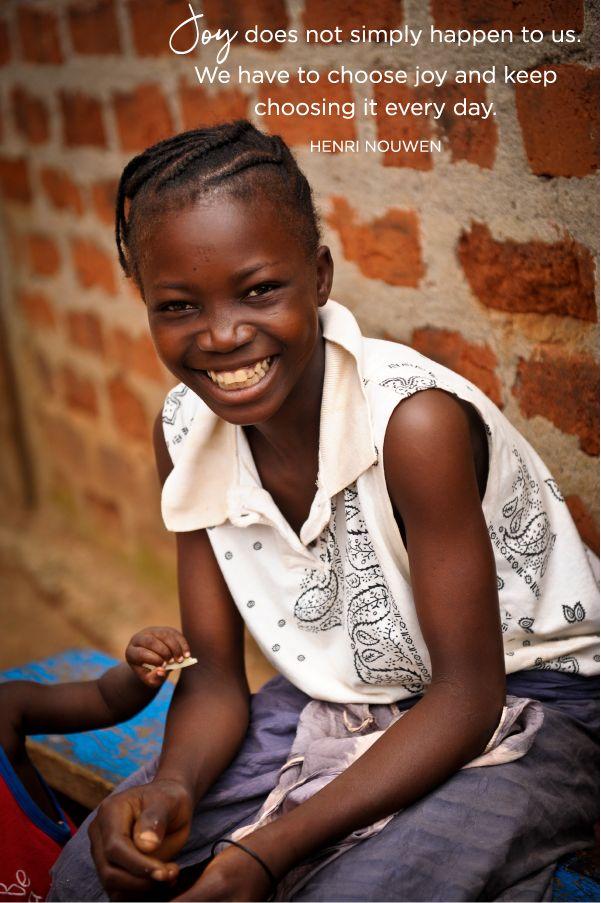 Joy does not simply happen to us. We have to choose joy and keep choosing it every day.  - Henri Nouwen  #joy #choosejoy #henrinouwen