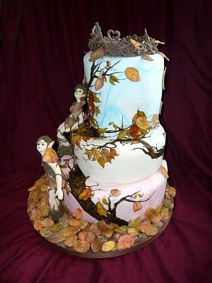 47 best Dragon Fairies Wedding Cakes Toppers images on