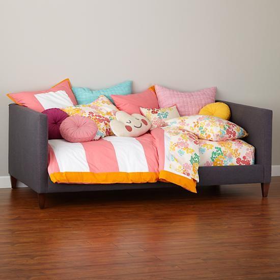 Option for Maisie's Duvet, Floral Gem Bedding in Girl Bedding | The Land of Nod, $79