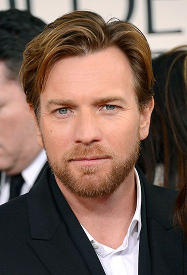 Ewan MacGregor at the 2013 Golden Globe Awards. Voted Best Hair by Esquire online. #celebstylewed